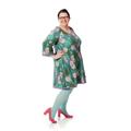 Lækre jerseykjoler syes på bestilling efter dine mål, kjoler tilo plussize kvninder, og damer i store størrelser.