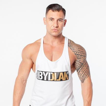 Stony Sportswear, Deadlift, Tank Top Bydlak Hvid