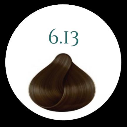 Hårfarve 6.13 Dark Beige Blonde 100ml