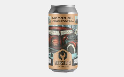 Motor Oil Double Chocolate - Stout fra Moersleutel