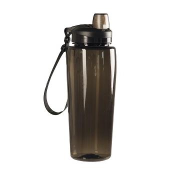 Mil-tec - Transparent Drikkeflaske (Smoke)