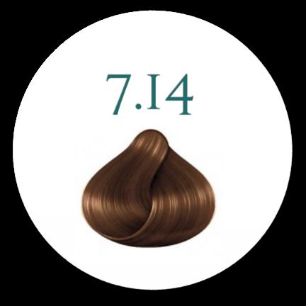 hårfarve 7.14 lys Hazelnut 100ml