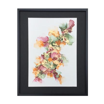 farverigt maleri 40x50cm