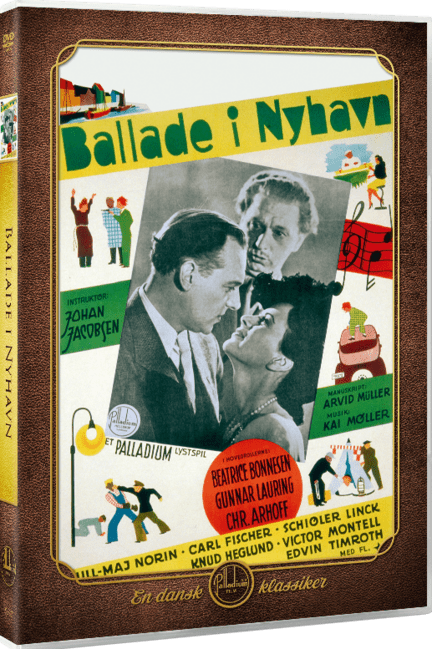 Ballade i Nyhavn, Palladium, DVD, Movie