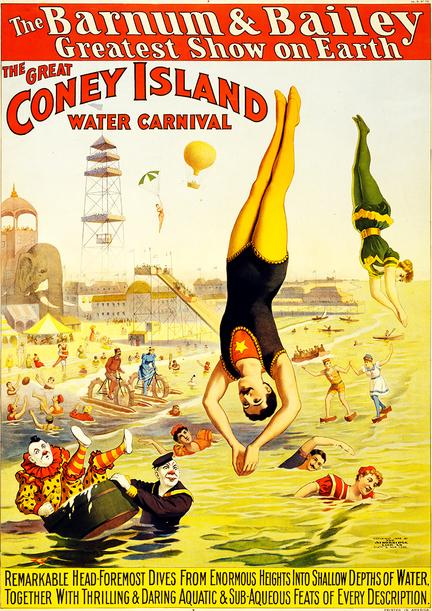fotomester cirkus plakat barnum bailey