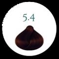 Hårfarve 5.4 Varm Kobber brun