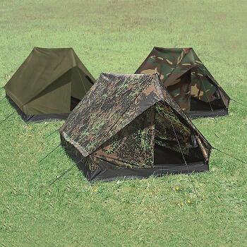 Mil-tec - Mini Pack Super 2-personers Telt (Woodland)