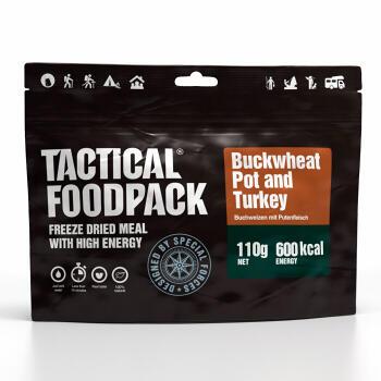 Tactical Foodpack - Buckwheat Pot and Turkey