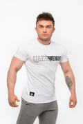 Stony sportswear, Deadlift, T-shirts Heavy Hvid 3