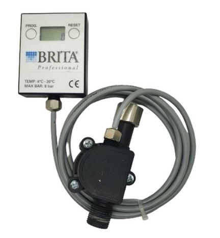 Brita programmerbar flowmeter