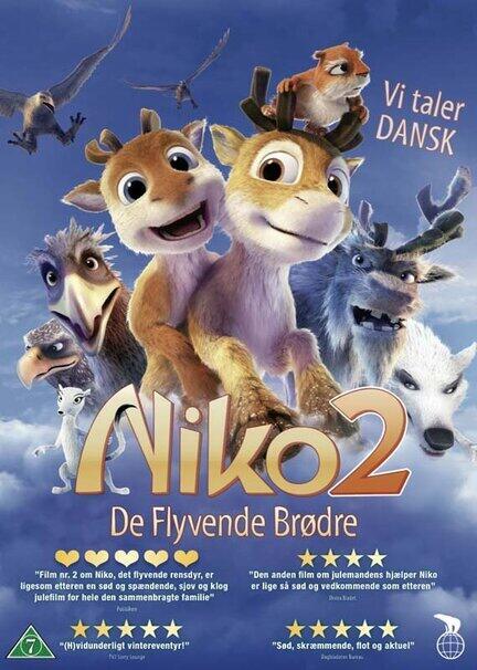 Nico og de flyvende brødre, dvd