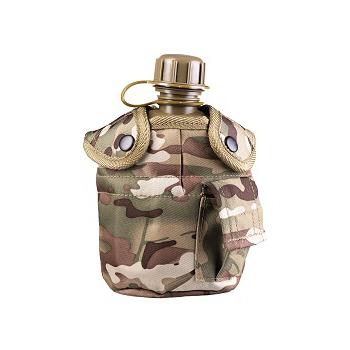 Mil-tec - Feltflaske med Krus (Multitarn)