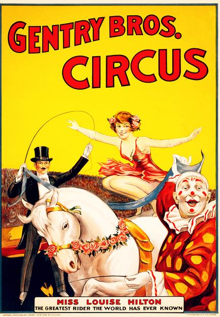 fotomester circus cirkus plakat gentry bros