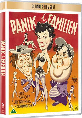 Panik i Familien, DVD, Movie, Dansk Filmskat