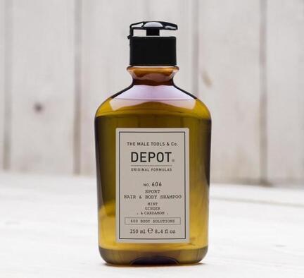 Depot No. 606 Sport Hair & Body Shampoo 250 ml