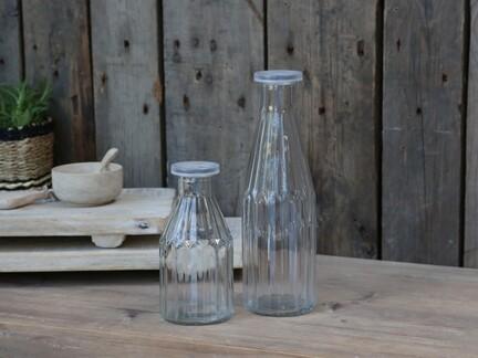 Flaske med låg fra Chic Antique