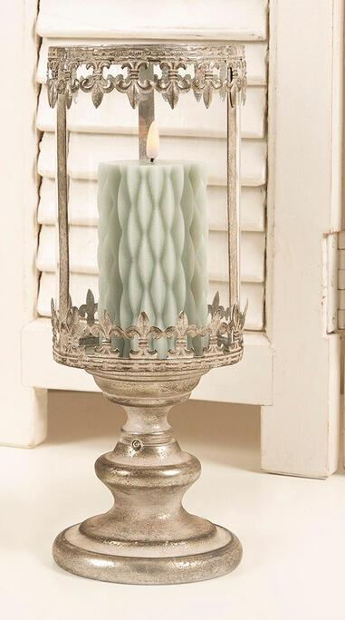 Lanterne i antik søl fra La Vida