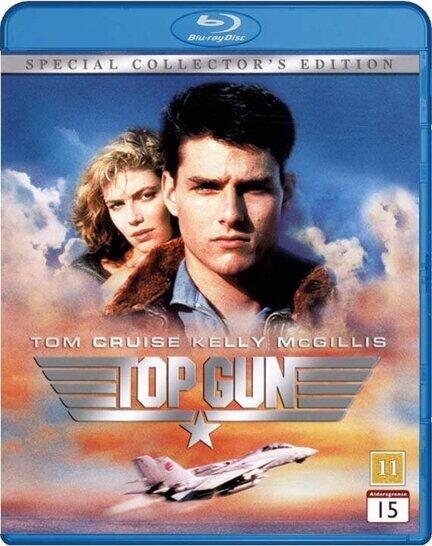 Top Gun, Bluray, Movie, Tom Cruise, Kelly McGillis