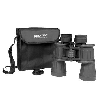 Mil-tec - Kikkert 7 x 50 (Sort) med Taske