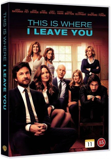 This is where I leave you, DVD