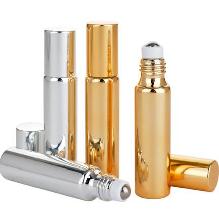 10ml parfume flaske roll on guld