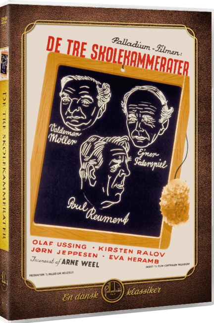 De tre skolekammerater, Palladium, DVD, Movie