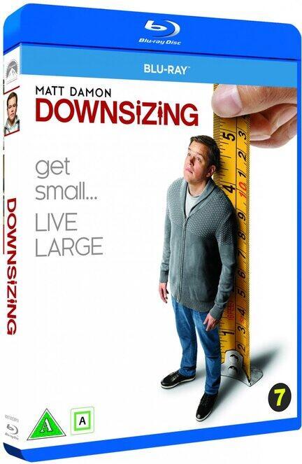 Downsizing, Bluray, Movie, Matt Damon