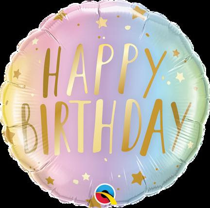 Send en fødselsdags ballon