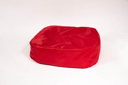 Doggyshop-betræk-til-hundepude-rød-medium