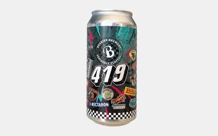 Bandwagon 419 - Double IPA fra Baxbier