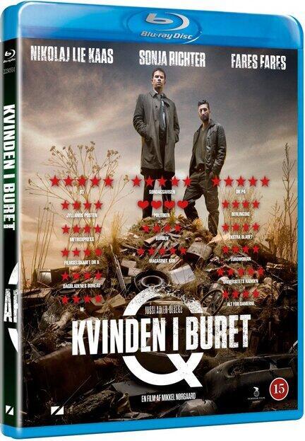 Afdeling Q, Kvinden i Buret, Bluray, Movie, Jussi Adler-Olsen