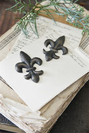 Lilje ornament fra Jeanne D´Arc Living