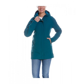 Tatonka - Jons W's Hooded Coat teal green