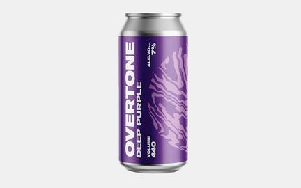 Deep Purple - Imperial Sour fra Overtone Blåbær og granatæble