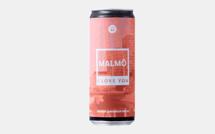 Malmö, I love you - Fruited Berliner Weisse fra Hyllie