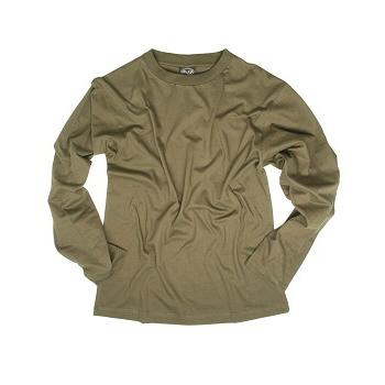 Mil-tec - T-shirt Langærmet (Oliven)