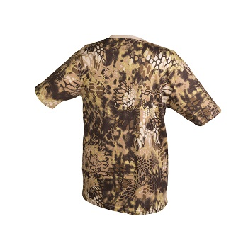 Mil-tec - Camo T-shirt (Mandra Tan)
