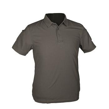 Mil-tec - Hurtig Tørrende Kortærmet Polo (Urban Grey)