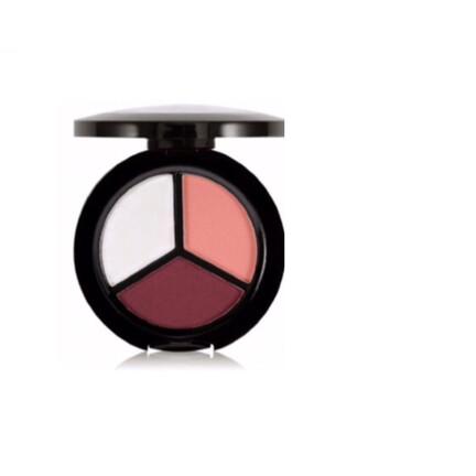Rouge-3 farvet Øjenskygge tricolor-øjenskygger
