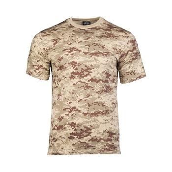 Mil-tec - Camo T-shirt (Digital Ørken)