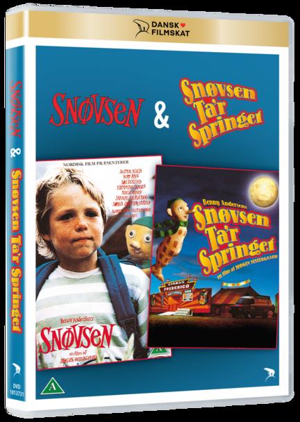 Snøvsen, Snøvsen ta'r springet, Snøvsen tager springet, DVD, Dansk Filmskat