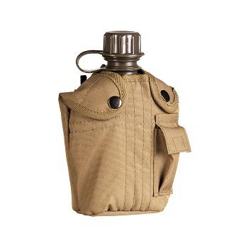 Mil-tec - Feltflaske med Taske (Coyote)