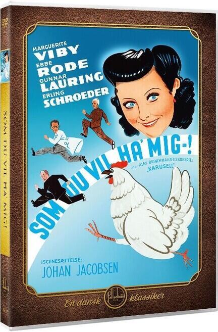 Som du vil ha' mig, Palladium, DVD Film, Movie