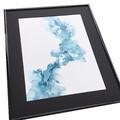 maleri blå 40x50