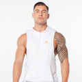 Stony Sportswear, Deadlift, Boxer med hætte i hvid