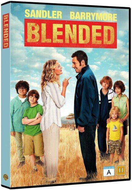 Blended. DVD, Movie