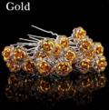 Hairpins-hårnåle-fashion-jewelry-Guld Roser-Smukke-Hårnåle-Til-opsætning-af-håret