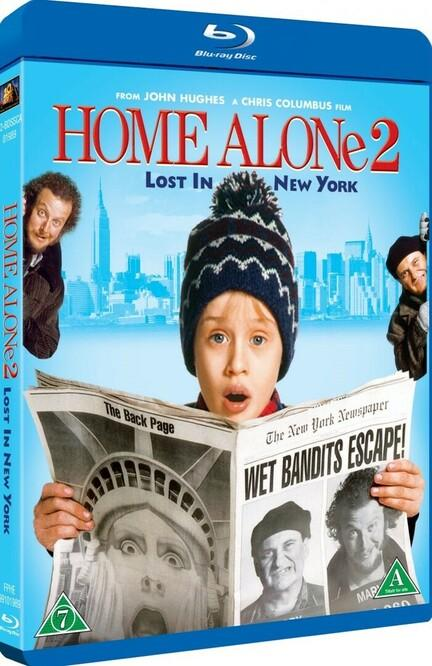 Home Alone. Alene Hjemme, Bluray, Film, Movie