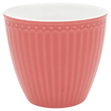 GreenGate Alice Coral, latte cup