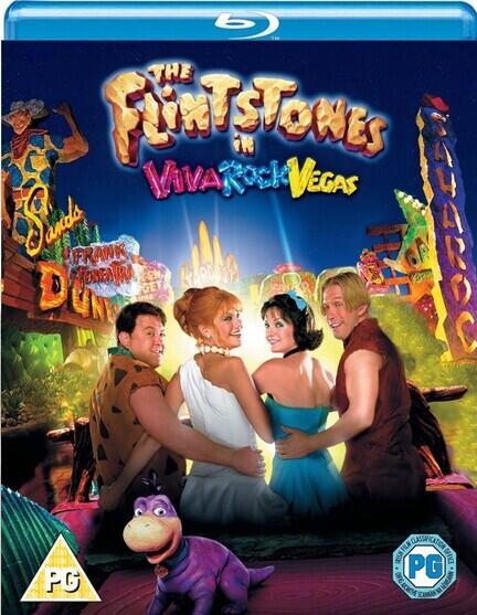The Flintstones, The Flintstones in Viva Rock Vegas, Bluray, Movie